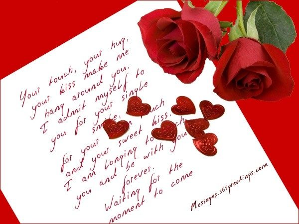 Love Greeting Cards For Boyfriend Love Messages For