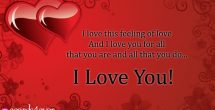 I Love U Cards Greetings