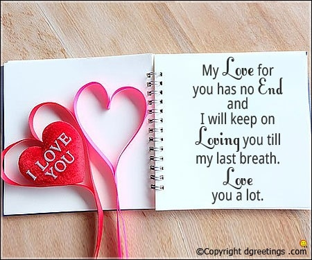Love Letters For Boyfriend, Romantic Love Letter For Him – Dgreetings regarding Romantic Love Cards For Him 30238