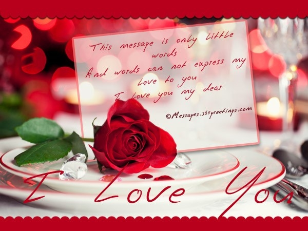 Love Messages For Boyfriend, Romantic Messages For Boyfriend inside Romantic Love Cards For Him 30238