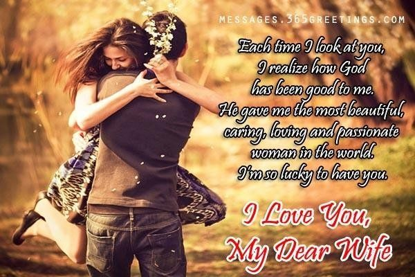 Love Messages For Wife - 365Greetings inside Romantic Love Cards For Husband In Malayalam