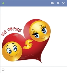 Love Stickers For Facebook Chat | World Of Example throughout Love Stickers For Facebook Chat 26764