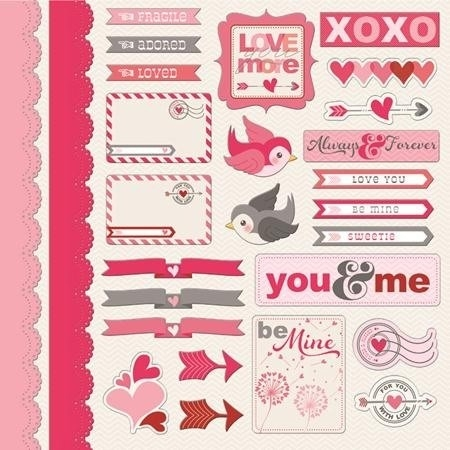 Love Stickers For Scrapbooking | World Of Example with Love Stickers For Scrapbooking 25883