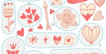Love Stickers For Scrapbooking