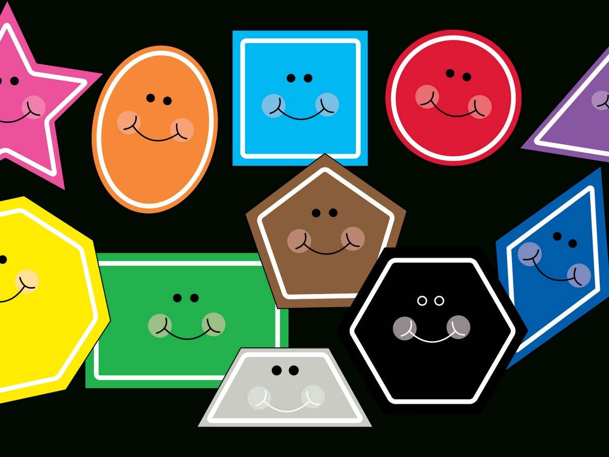 Love Two Teach: Free Shape Clipart!!! Updated With Hexagon And pertaining to Preschool Shapes Clip Art