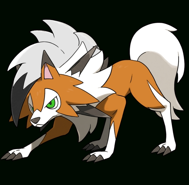 Lycanroc Dusk Form By Tarun2207 On Deviantart throughout Form Art Png 25833