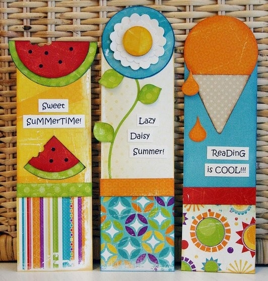Make Bookmarks With Kids Before School Ends To Encourage Summer regarding Creative Bookmark Designs For Kids 29692