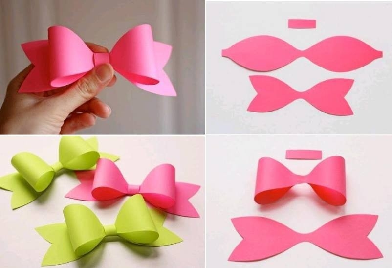 Make Paper Craft Bow Tie Step Diy Tutorial Instructions - Coriver with regard to Handmade Paper Craft Ideas Step By Step 27717