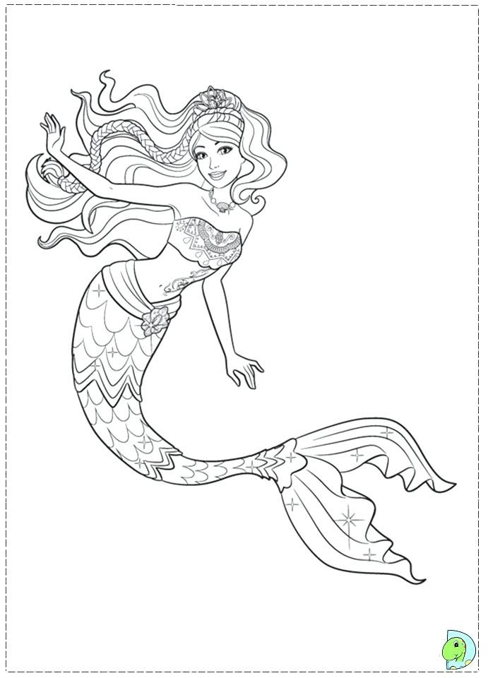 Mermaid Coloring Page | Bakemyday inside Detailed Coloring Pages Of Mermaids 29451