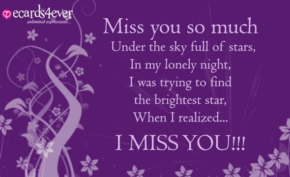 Miss You Greeting Cards Compose Card I Miss You Greeting Cards To throughout I Miss U Cards For Love 30148