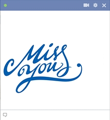 Miss You | Symbols & Emoticons throughout I Miss You Stickers For Facebook 26774