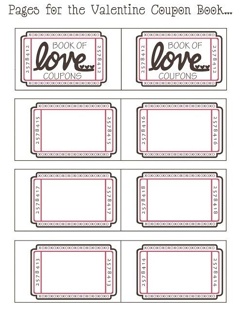 mommy by day crafter by night free printable valentine coupon throughout blank coupon
