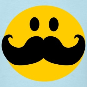 Mustache Pictures | Funny Mustache Smiley Face Cartoon inside Cool Smiley Faces With Mustaches 30584