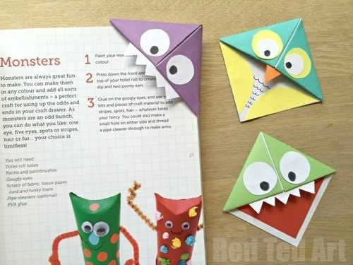 My Owl Barn: Diy: Easy Corner Bookmarks Intended For Diy Bookmarks inside Diy Corner Bookmarks Tutorial 29642