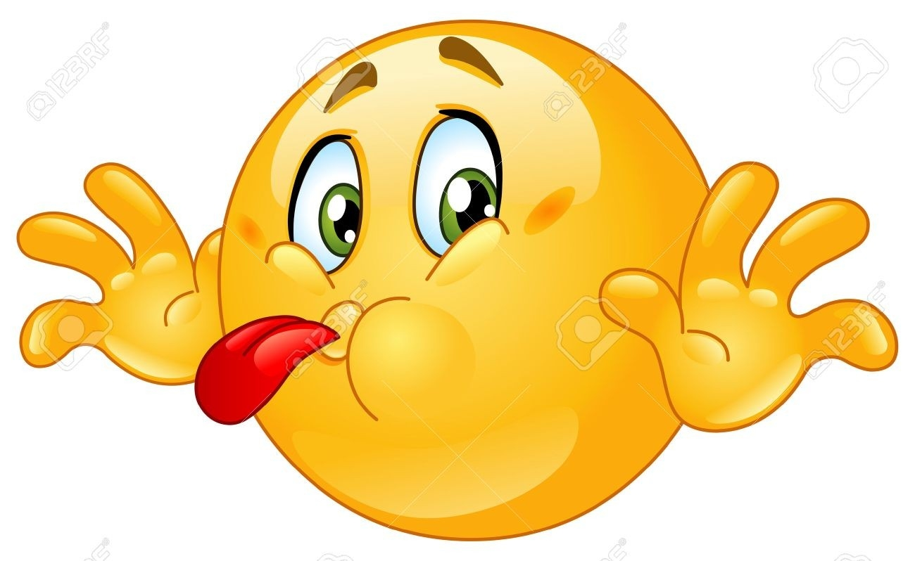 Naughty Emoticon Sticking Out His Tongue Royalty Free Cliparts throughout Smiley Faces Tongue Sticking Out 28389