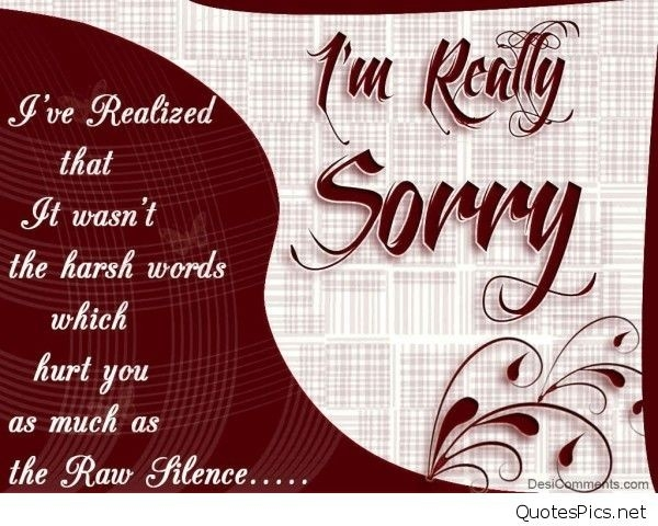 New Sorry Quotes Wallpapers pertaining to Sweet Sorry Quotes For Boyfriend In Hindi 28575
