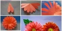 How To Make Paper Craft Flowers Step By Step