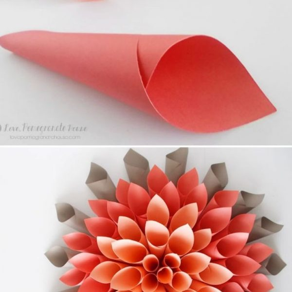 Origami best construction paper flowers ideas on construction origami best construction paper flowers ideas on construction within how to make paper roses with construction paper step by step mightylinksfo