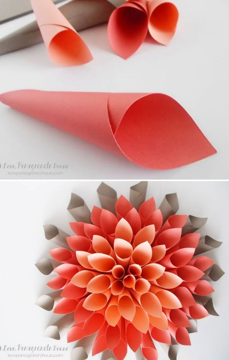 Origami: Best Construction Paper Flowers Ideas On Construction within How To Make Paper Roses With Construction Paper Step By Step 27563