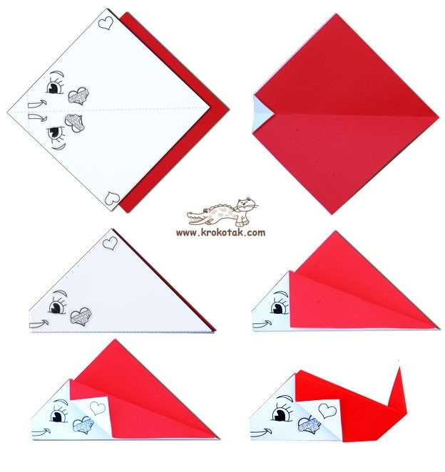 Origami Paper Folding For Kids - Probuch in Simple Paper Folding Art For Kids 28990