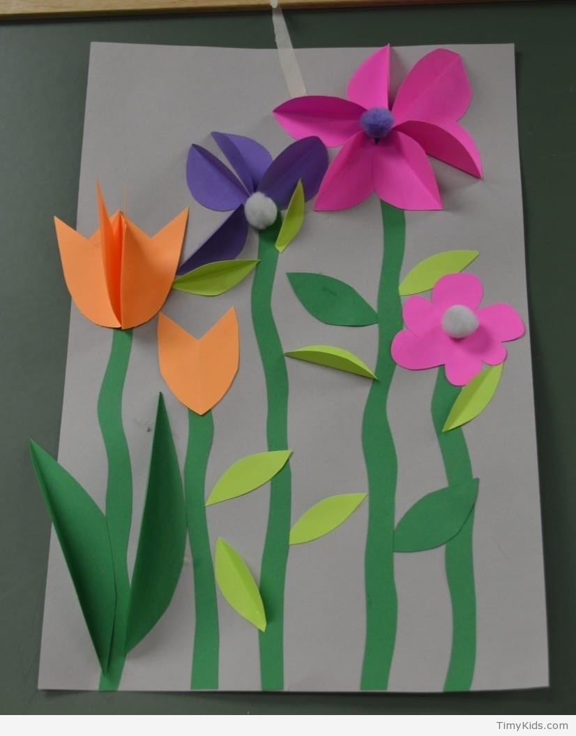 Paper Art And Crafts For Kids   Timykids inside Construction Paper Art For Kids 29000