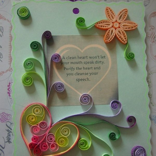 Paper Craft Ideas For Greeting Cards 170 Best Quilled Cards Images