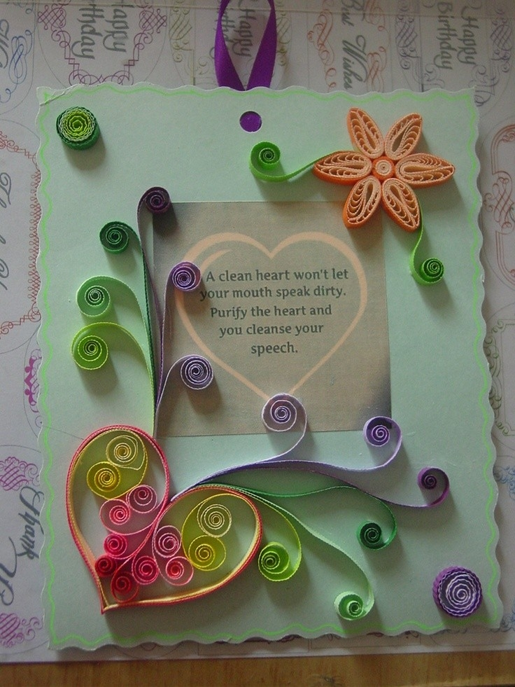 Paper Craft Ideas For Greeting Cards 170 Best Quilled Cards Images throughout Paper Craft Ideas For Greeting Cards 28956