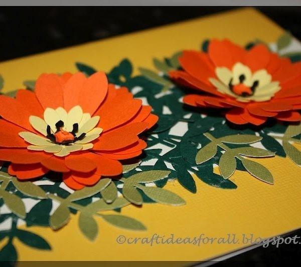 Paper Craft Ideas For Greeting Cards Craft Ideas For All Flower for Paper Craft Ideas For Greeting Cards 28956
