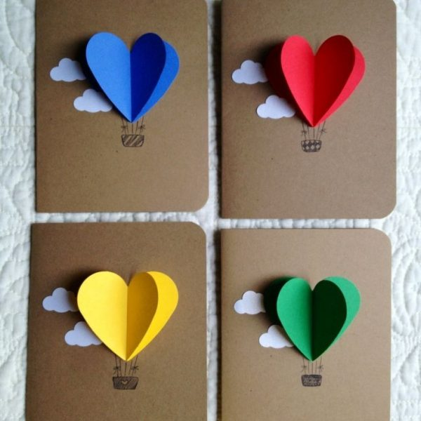 Paper Craft Ideas For Greeting Cards Jobsmorocco Within Paper