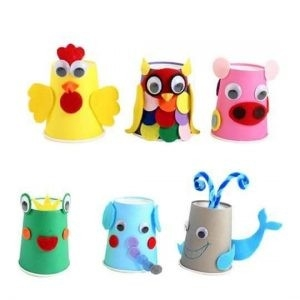 Paper Cup Animal Crafts (9) … | Pinteres… for Crafts For Kids With Paper Cups 27069