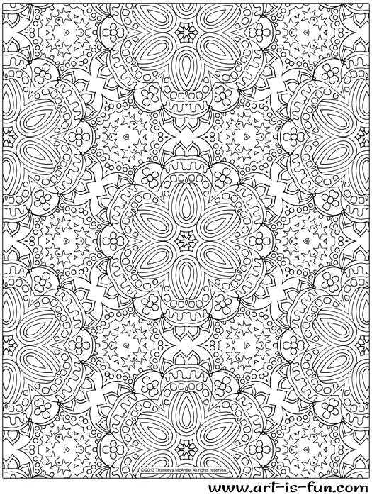 Pattern Color Pages – Refugeesmap regarding Detailed Pattern Coloring Pages 29461
