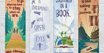 Bookmarks With Quotes About Reading