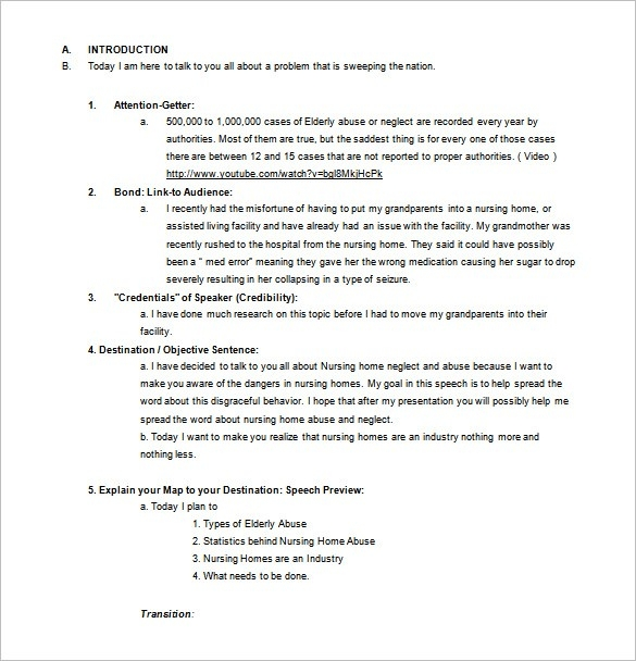 Persuasive Speech Outline Template – 9+ Free Sample, Example for Persuasive Speech Outline Example 28771