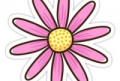 Flower Sticker Png