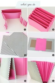 Pinterest Feature Friday - | Damasks, Organizing And Tutorials pertaining to Handmade Paper Crafts Ideas Step By Step 26855