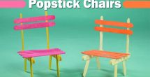 Easy Crafts For Kids With Popsicle Sticks