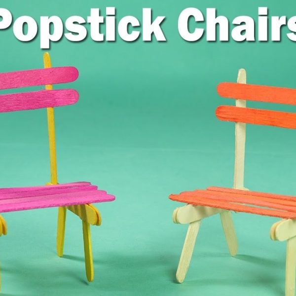 Popsicle Stick Crafts For Kids Easy Icecream Sticks Chair