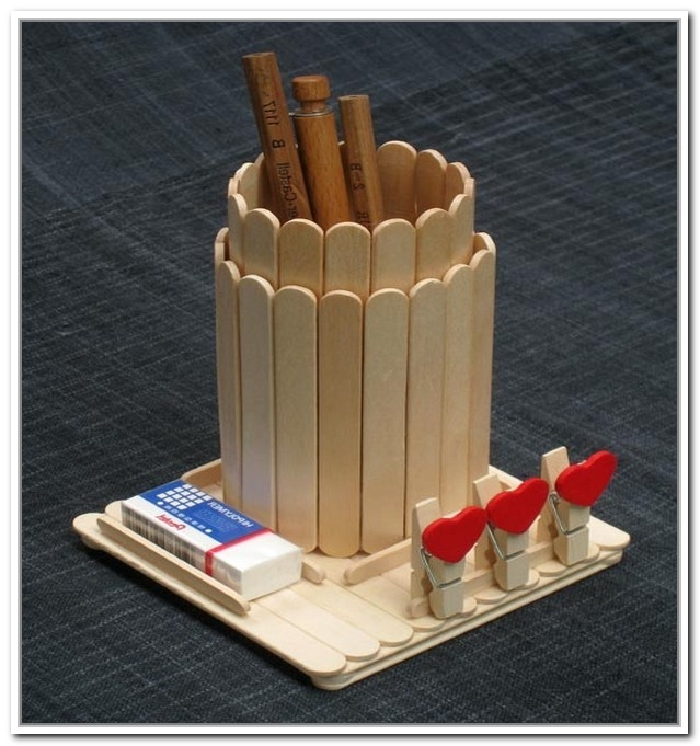 Popsicle Stick Plate Charger Diy — Crafthubs | Uskrs | Pinterest pertaining to Art And Craft Ideas With Ice Cream Sticks For Kids 28926
