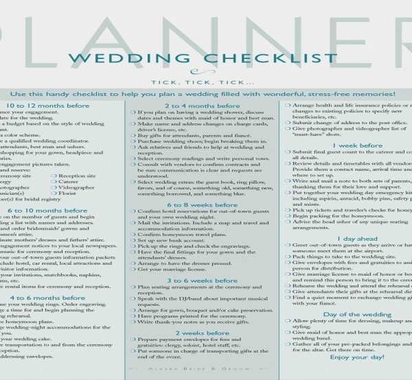 Geeky image within printable wedding checklist the knot