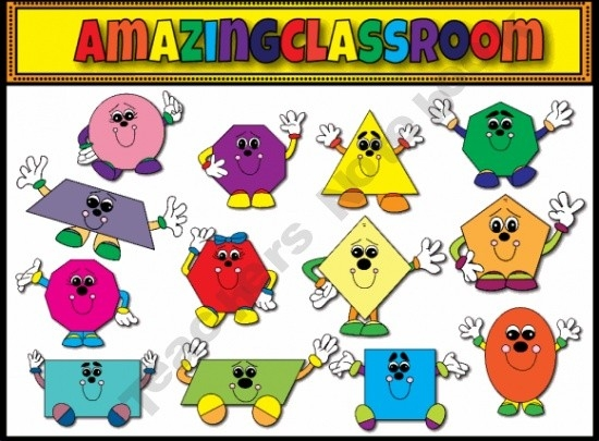 Preschool Shapes Free Clipart inside Preschool Shapes Clip Art 25733
