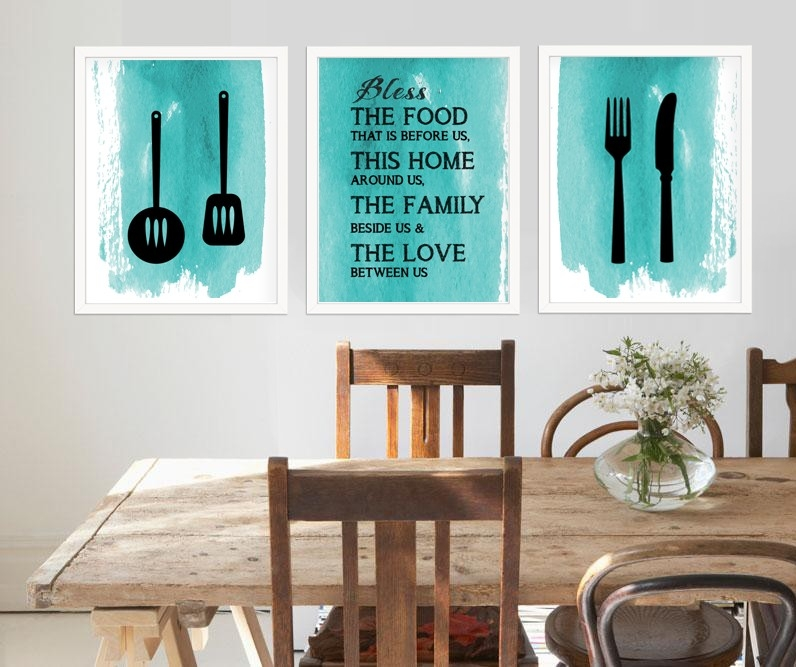 Printable Art For Kitchen, Kitchen Decor Idea Id02 | Aiwsolutions intended for Modern Kitchen Wall Art 27109