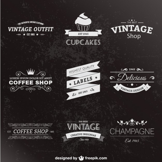 Vintage Label Template Psd | Examples and Forms