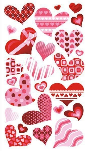 Scrapbooking Stickers | Ek Tools Funky Hearts Scrapbooking with Love Stickers For Scrapbooking 25883