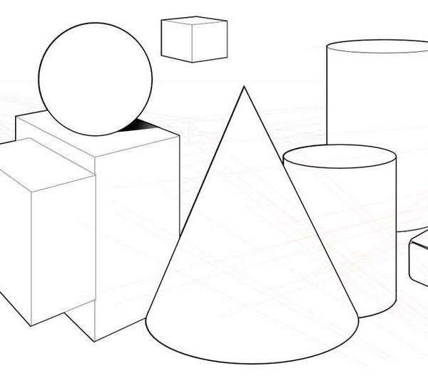 Elements Of Fine Arts : Seran gallery of fine arts shape and form drawing