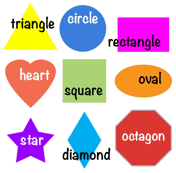 Shapes For Kids | Englishclub pertaining to Shapes Names For Kids 25683