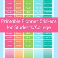 Shop College Stickers On Wanelo in Calendar Stickers For College Students 28268