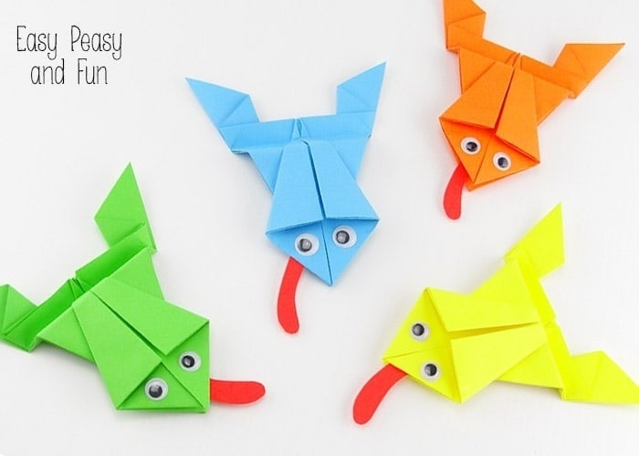 Simple Paper Folding Art For Kids | World Of Example pertaining to Simple Paper Folding Art For Kids 28990