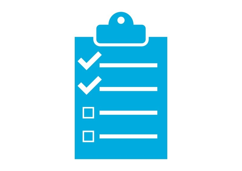 Single Color Checklist Vector Icon regarding Checklist Vector 26183