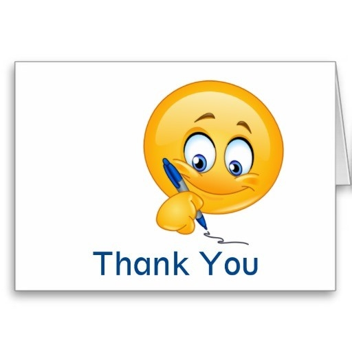 Smile Thank You / Greeting Card - Srf | Smileys, Smiley And Emoji for Animated Smiley Faces Saying Thank You 28354