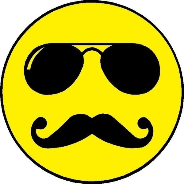 Smiley Face With Mustache And Thumbs Up | Free Download Clip Art inside Cool Smiley Faces With Mustaches 30584